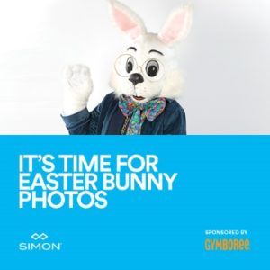 Easter bunny photo poster (via Fashion Centre at Pentagon City)