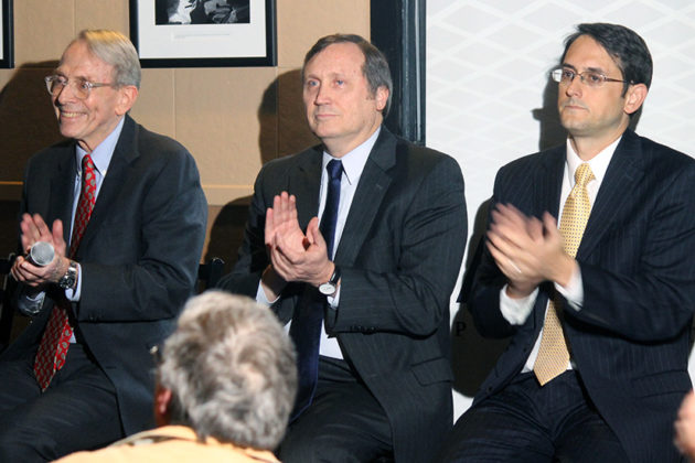 Left to right: Peter Rousselot, Larry Roberts, Mark Kelly