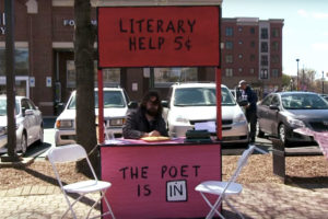Arlington poetry booth