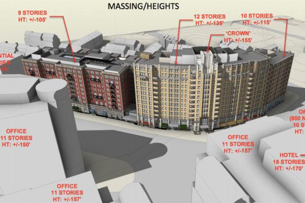 750 N. Glebe Road development rendering