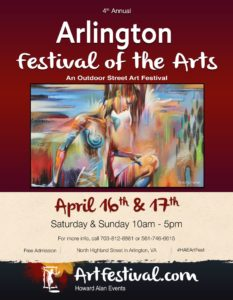 Arlington Festival of the Arts poster
