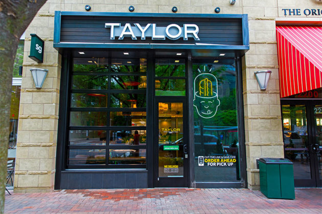 New Taylor Gourmet in Crystal City (Photo credit @shootjoec)