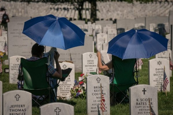 Sunday at Arlington National Cemetery (Flickr pool photo by Kevin Wolf)