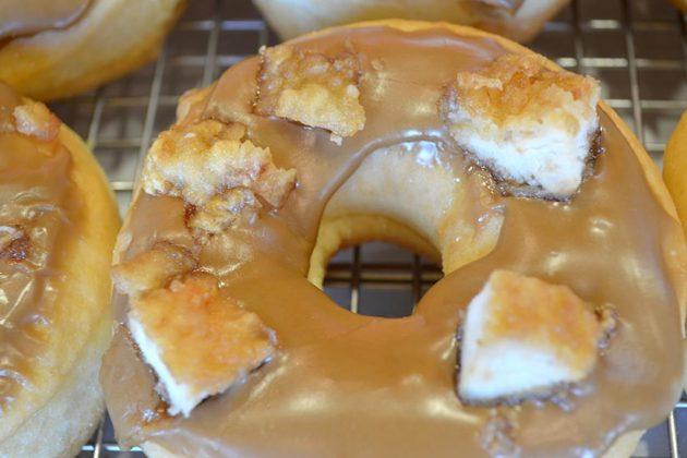 Maple Chicken Donut at Sugar Shack