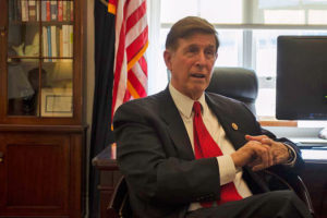 Rep. Don Beyer in his Capitol Hill office