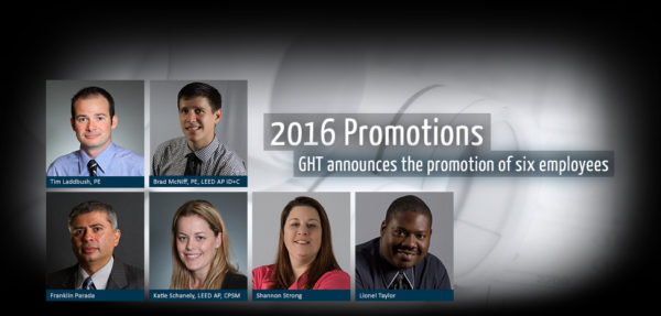 Arlington-Based GHT Limited Announces the Promotion of Six Staff Members