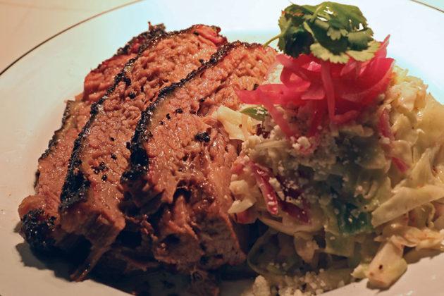 Texas Jack's BBQ beef brisket dish for Taste of Arlington