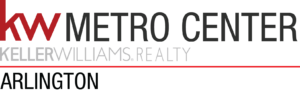 KW Metro Center LOGO ARLINGTON BLACK