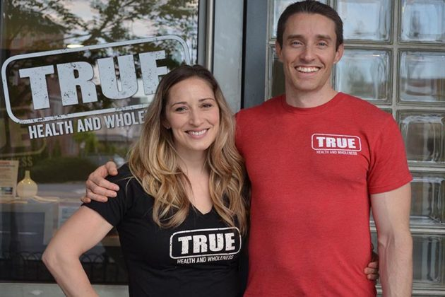 True Health and Wholeness founders Nina and Christian Elliot