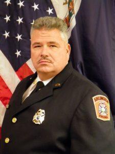 Arlington Fire Chief James Bonzano
