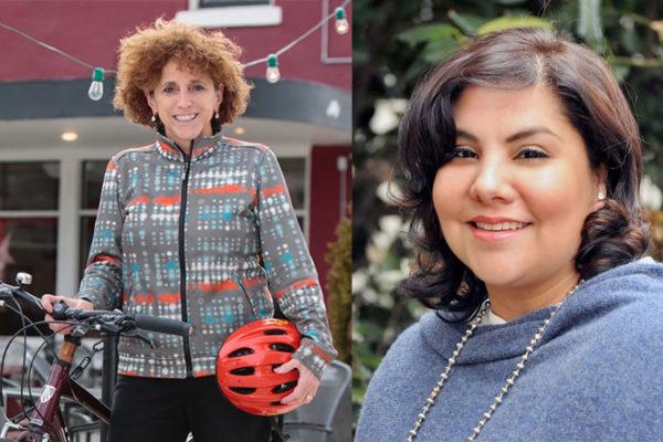 Natalie Roy and Jane Ramirez