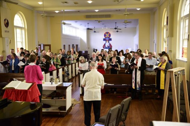 Final worship service at Arlington Presbyterian Church (courtesy photo)