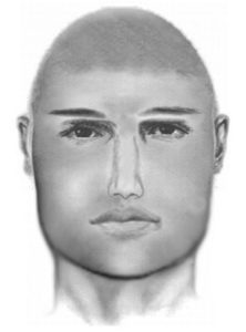 Composite sketch of sexual assault suspect (photo courtesy ACPD)