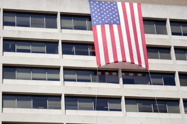 Flag in Rosslyn
