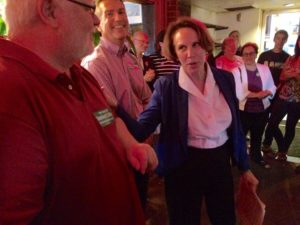Libby Garvey victory party at Rincome Thai Cuisine on Columbia Pike