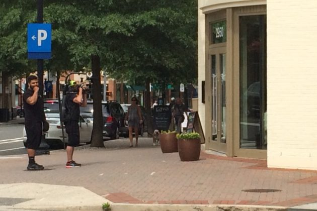 'Real Housewives' filming at Oz restaurant in Clarendon