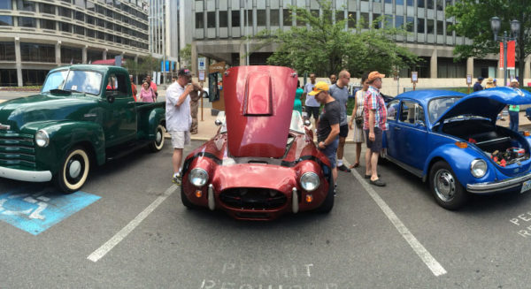 Crystal Car show in Crystal City on Father's Day 2016