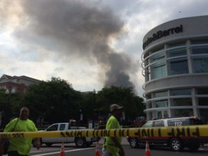 Fire at Market Common Clarendon