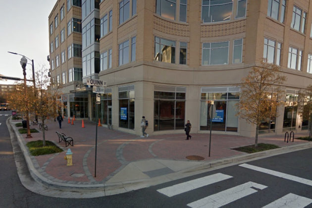 Future location of Quinn's at the Corner at 1776 Wilson Blvd (photo via Google Maps)