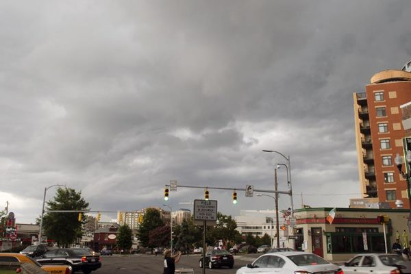 Storm Clouds in Clarendon on July 18, 2016