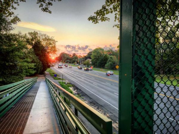 Sunrise over Route 50 (Flickr pool photo by David Giambarresi(