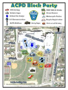 ACPD Summer Block Party 2016, photo via Arlington County