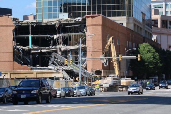 Ballston Common Mall demolition
