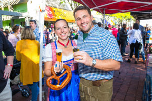 Oktoberfest in Shirlington (Photo via Capitol City Brewing Company)