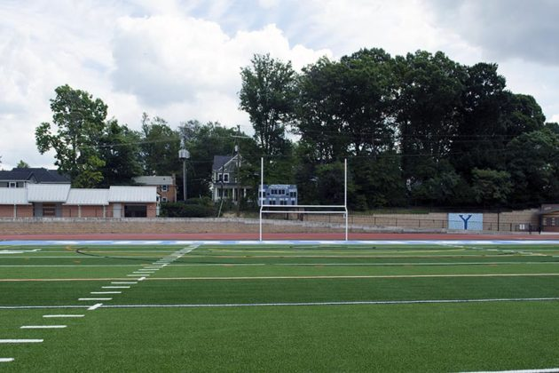 Yorktown High School's Turf Field  (NOTE: previous image is NSFW)