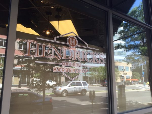 Hendricks Gentlemen's Barbershop (Photo courtesy Tim Donaldson)