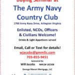 Army Navy Country Club Home Buyer's Seminar