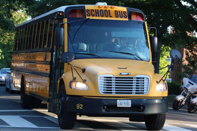 First day of school at Abingdon Elementary