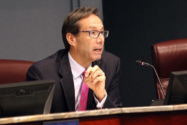 County Board member Jay Fisette