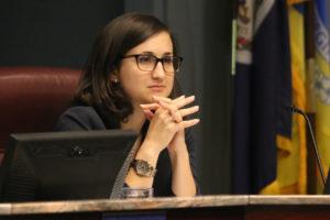 County Board member Katie Cristol