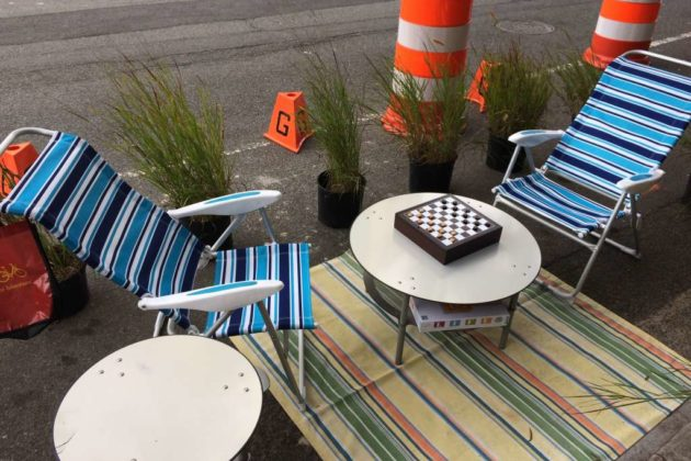 Park(ing) Day 2016 in Courthouse