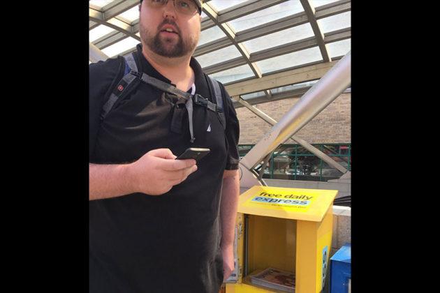 Fraudulent ticket suspect (photo courtesy ACPD)