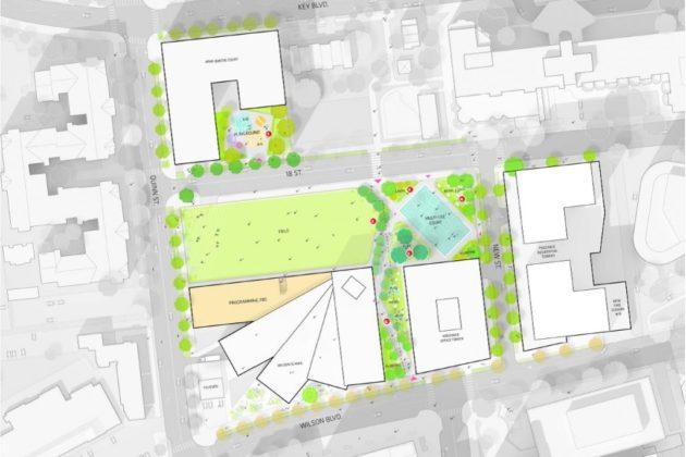 Rosslyn Highlands Park concept plan
