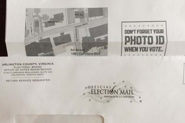 Incorrect voting information sent to Abingdon precinct residents