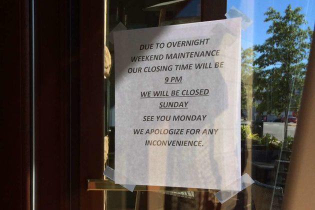 Park Lane Tavern in Clarendon has closed