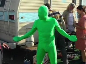 """Green Man"" from It's Always Sunny in Philadelphia (screencap via Wikia)"