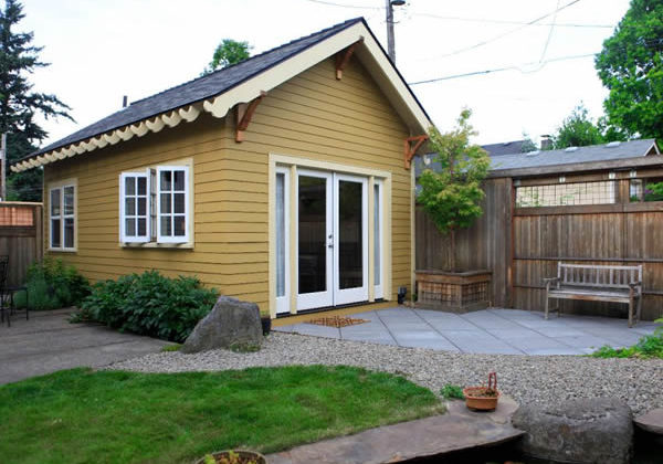 """Backyard cottage"" accessory dwelling (courtesy photo)"