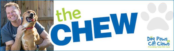 The Chew column banner