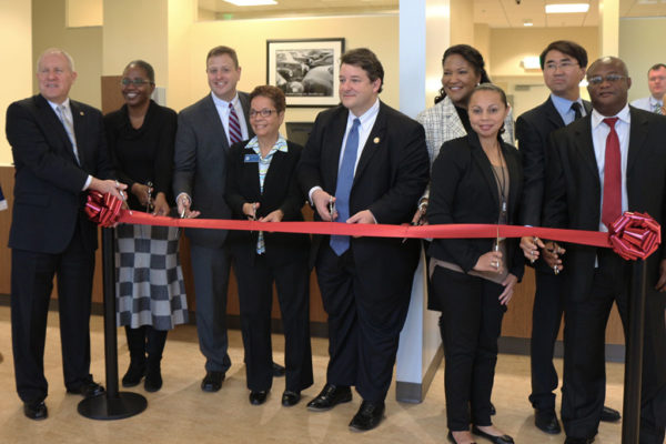 Grand opening for the new Virginia DMV office in Virginia Square