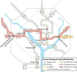Safetrack Surge #11 (map via WMATA)