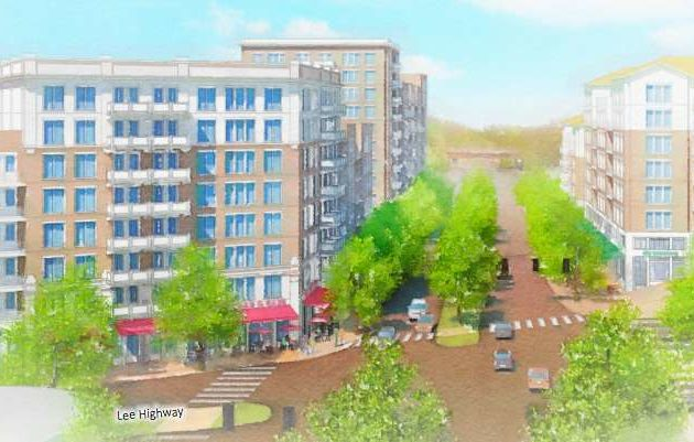 Rendering from Lee Highway planning process (via Arlington County)