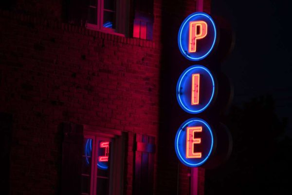 """PIE"" sign (Flickr pool photo by Kevin Wolf)"