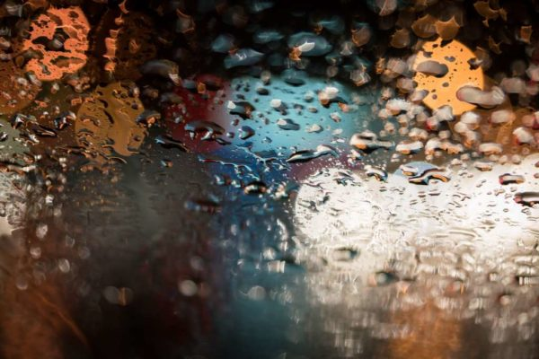 Rainy night (Flickr pool photo by Kevin Wolf)