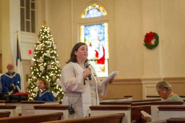 Rev. Sarah Harrison-McQueen (photo courtesy Jim Coates)