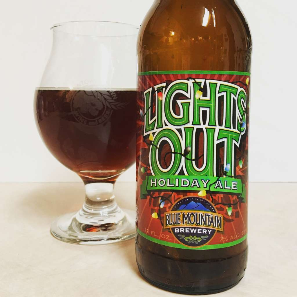 Blue Mountain Brewery Lights Out Holiday Ale