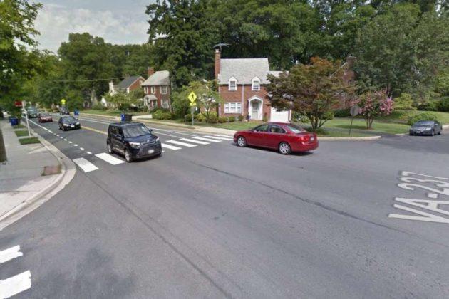 Street view of Washington Blvd at N. Inglewood St (via Google Maps)